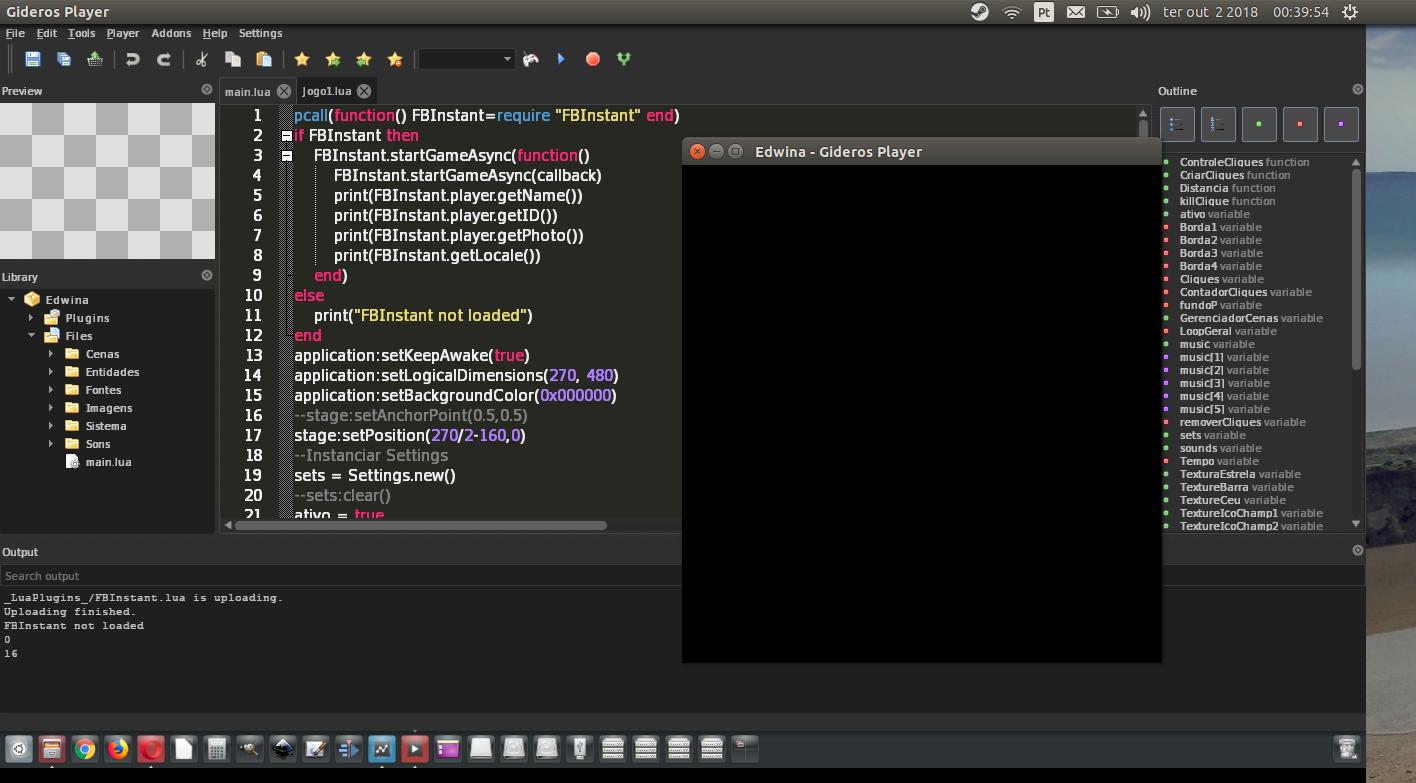 Build Linux - Gideros Forum